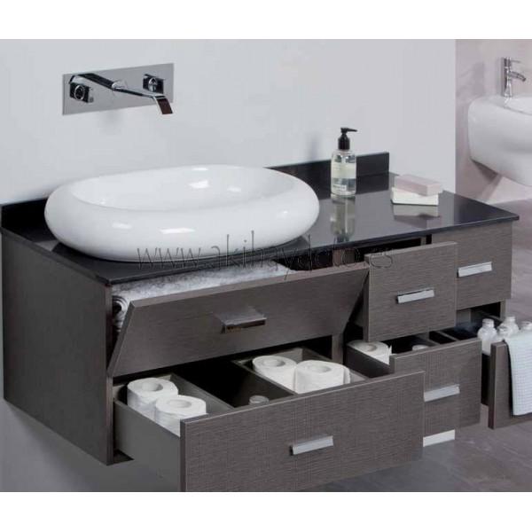 baño > muebles > series modulares > Conjunto 110 cm, en roble os