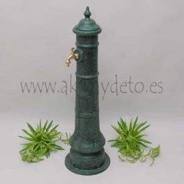 Fuente columna de hierro