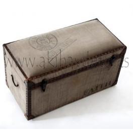 Baúl madera asiento LENTILLES