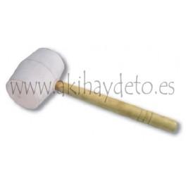Maza de goma blanca