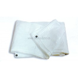 Toldo cubrir blanco 120 grs/m²