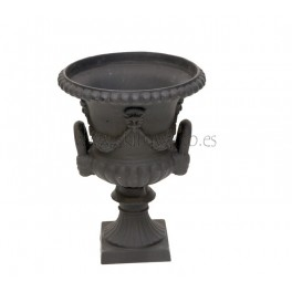 Urna hierro fundido negro modelo racimos