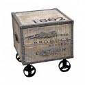 """Mesilla 2 cajones c/ruedas ANTIC """"1862"""""""