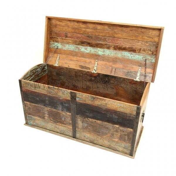 Gran arcón madera modelo ANTIC COLORES -> Arcon Madera