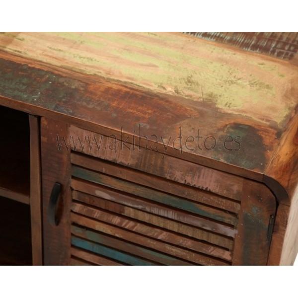 Muebles para tv de madera reciclada - Madera reciclada muebles ...