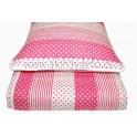 Edredon Bebé c/ 1 almohada Fucsia