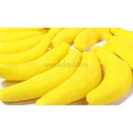 Gominolas en forma de plátano