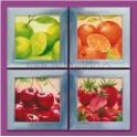 Cuadro fruta variada