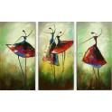 Pintura bailarinas