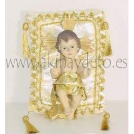 Niño Jesús c/cojín