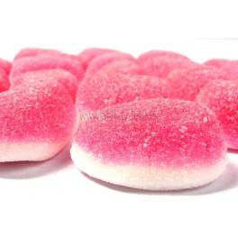 Gominolas besos de fresa