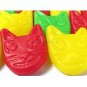 Gominolas caras de gato