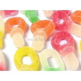 Gominolas chupete de azúcar