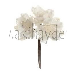 Bouquet Amapolas Blanco