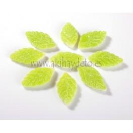Gominolas hojas de menta