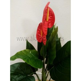 Planta artificial Anthurium