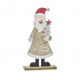 Papá Noel madera