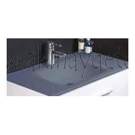 """Lavabo de cristal modelo """"Vitrum gris"""""""