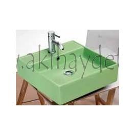 "Lavabo modelo ""teorema r verde"""