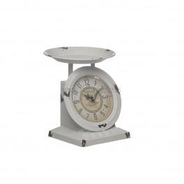 Reloj de mesa, balanza