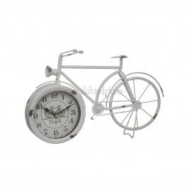 Reloj de mesa, bicicleta