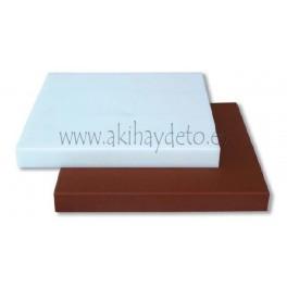 Plancha fibra carnicero marrón