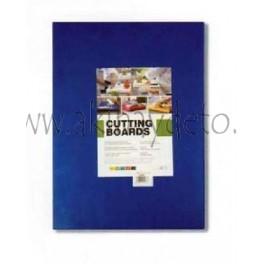 Plancha fibra cocina azul