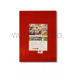 Plancha fibra cocina rojo