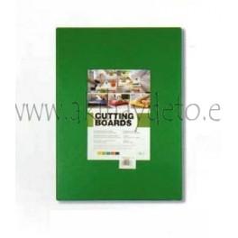 Plancha fibra cocina verde