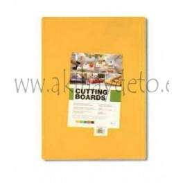 Plancha fibra cocina amarillo
