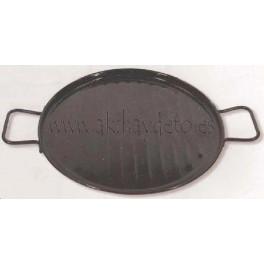Plancha grill esmaltada