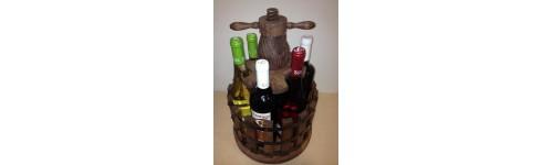 Botelleros madera - Botelleros de obra ...